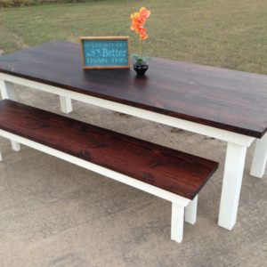 8′ Farmhouse Dining Room Table (The Holiday)